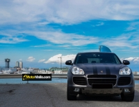 Porsche Cayenne con Vinilo mate antracita