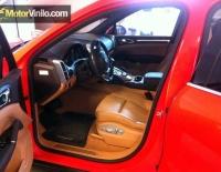 Porsche con Vinilo rojo brillante 3m