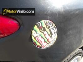Tapa del depósito con Vinilo Hellaflush Sticker Boom