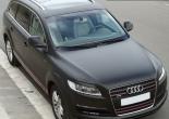Audi Q7 forrado integral con vinilo negro mate 3M