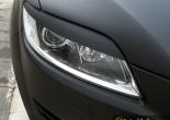 Audi Q7 pestañas con Vinilo negro mate