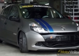 Clio Sport forrado integral en Vinilo titanio cepillado