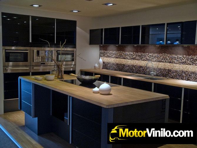 Instalaci n de vinilos decorativos - Vinilo muebles cocina ...