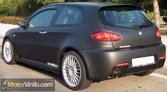 Alfa 147 GTA vinilo negro mate
