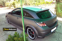 Opel Astra vinilo gris oscuro mate