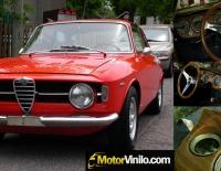 Alfa Romeo Giulietta salpicadero forrado en Vinilo madera