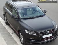 Audi Q7 forrado integral con Vinilo negro mate
