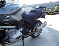 BMW R1200R con Vinilo carbono