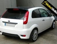 Ford Fiesta forrado integral con Vinilo blanco brillo 3M