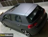 Golf GTI forrado integral con Vinilo gris oscuro mate