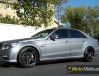 Mercedes AMG forrado integral con Vinilo gris mate