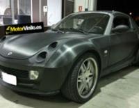 Smart Roadster forrado integral con Vinilo carbono brillante