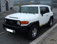 Toyota FJ Cruiser forrado con Vinilo blanco mate