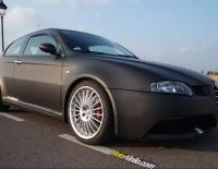 Alfa Romeo 147 GTA forrado con Vinilo negro mate