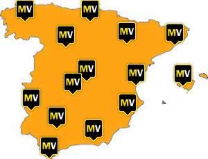 Mapa de talleres autorizados MotorVinilo